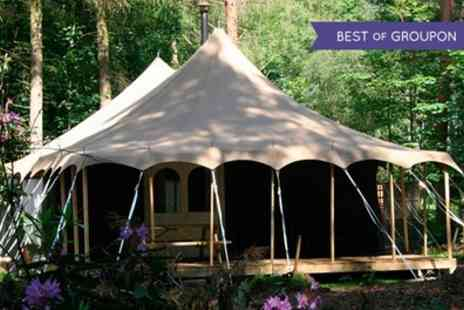 Jollydays - Two Nights Glamping Stay For Two - Save 0%