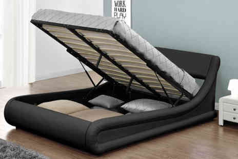 Limitless Base - Rio Designer Ottoman Bed - Save 73%