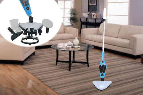 lolbargain - 11 in 1 Multifunctional Steam Mop - Save 73%