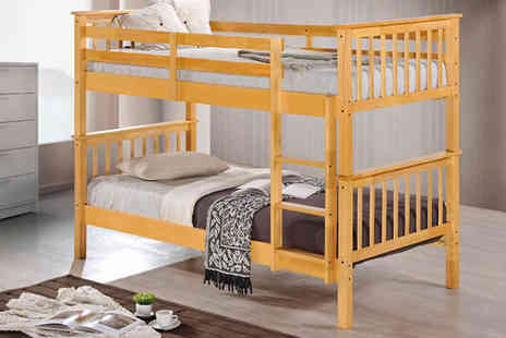 AP Furnitures - George Solid Wood Bunk Bed - Save 60%