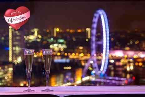The View - Four course meal, Prosecco, Champagne, wine and movie screening for two  - Save 50%