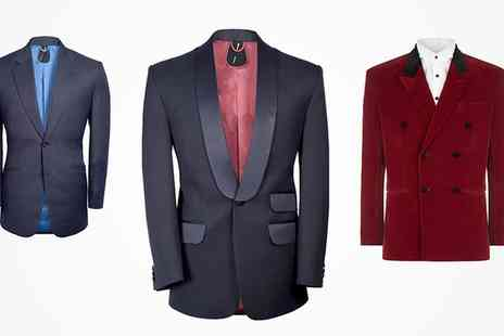 A Suit That Fits - Tailor Made Two Piece Suit with Optional Tailor Made Shirt  - Save 44%