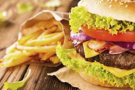 The Mill Arms - Gourmet Burger Meal for Two or Four  - Save 50%