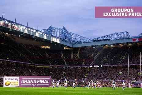 The Rugby Football League - Exclusive Price First Utility Super League Grand Final 2016 Tickets - Save 50%