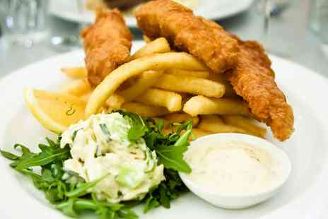 The Chestnut Horse Inn - Fish and Chips with Soft Drink for Two or Four - Save 38%