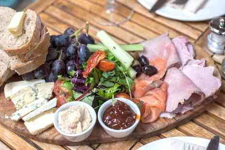 Bistro Guy - Sharing House Platter with Wine for Two - Save 36%