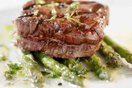Redwood Grill - Three Course Fillet Steak Meal for Two or Four  - Save 42%