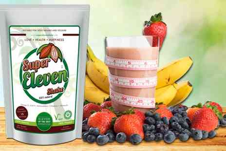 Super Eleven Shake - 30 Day Super Eleven Weight Management Shake With Free Delivery - Save 53%