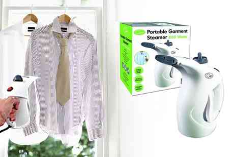 Groupon Goods Global GmbH - Quest Portable Garment Steamer - Save 56%