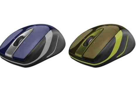 Crazy Kangaroo - Logitech M525 Wireless Mouse in Blue or Green With Free Delivery   - Save 26%