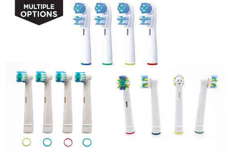 LivingSocial Shop - Oral B Compatible Toothbrush Heads - Save 75%