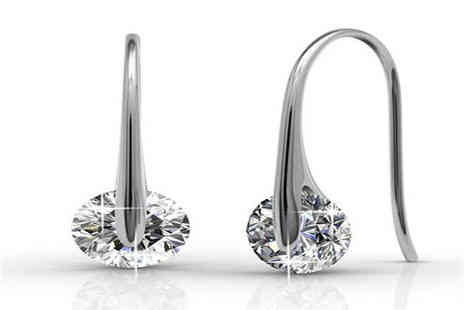 NEoffers  - Moon Drop Earrings - Save 57%
