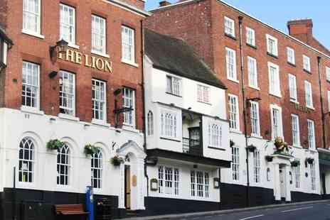 The Lion Hotel  -  One or Two Nights stay with dinner and daily breakfast - Save 50%