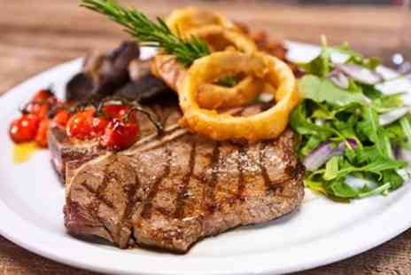 The Masons Arms -  Two Course Steak Dinner including Prosecco for 2 - Save 44%