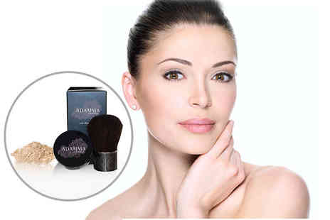 Adamma Beauty - Five in one mineral foundation including a Kabuki brush   - Save 82