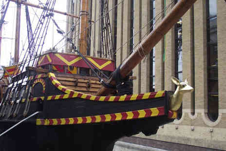 The Golden Hinde - Guided Golden tour for two   - Save 47%
