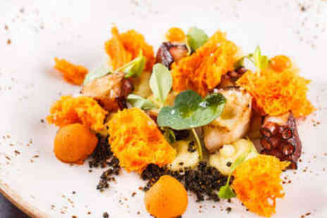 The Epicurean Restaurant - Two Course Meal with Wine for Two - Save 51%