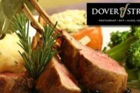 Dover Street - Couples Jazz Night With Five Course Meal and Bellini Each For Up to Eight People - Save 66%