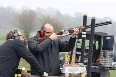 Lea Marston Events - Clay Pigeon Shooting and Archery for Two - Save 79%