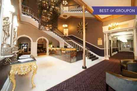 Premier Queen Hotel - One Night Stay For Two With Breakfast and Voucher Towards Welcome Drinks - Save 0%
