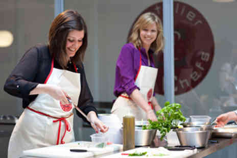 Latelier des Chefs - Two Hour Cooking Class with Wine for One - Save 0%
