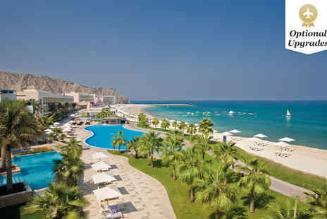 Radisson Blu Fujairah - Seven nights Stay in a Deluxe Sea View Room - Save 52%