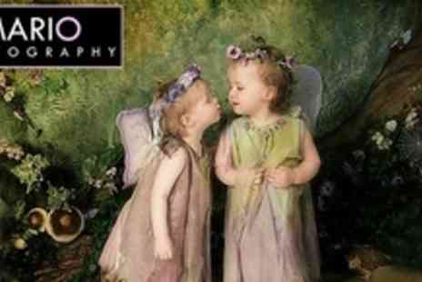 Mario Photography - Childrens Fairy Photo Shoot With Two Mounted Prints - Save 94%