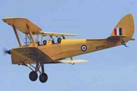 Virgin Experience Days  - 30 minute Tiger Moth Flight and IWM Duxford Entry - Save 0%