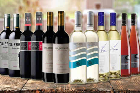 IBERVILLA FINE FOODS - Mixed Spanish Wine Collection - Save 58%