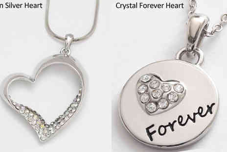 CFS Trading - Choice of Five Romantic Necklaces - Save 50%