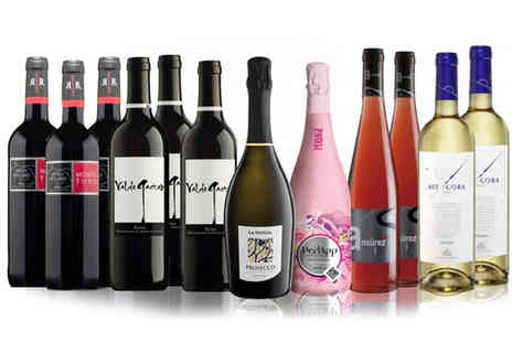 IBERVILLA FINE FOODS - 12 Bottle Prosecco And Wine Selection - Save 57%