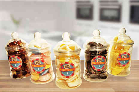 Mrbigtops - Victorian Jar Set of Retro Sweets - Save 25%