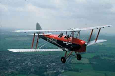 Virgin Experience Days - 30 minutes Tiger Moth Flight   - Save 0%