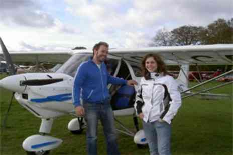Virgin Experience Day - Extended Microlight Flight - Save 0%
