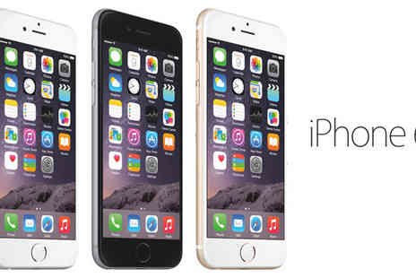 Click Wrap - iPhone 6 16GB, 64GB or 128GB Space Available in Grey, Gold or Silver - Save 35%