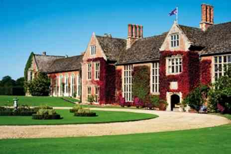 Littlecote House Hotel  - Three Course Dinner for Two   - Save 0%