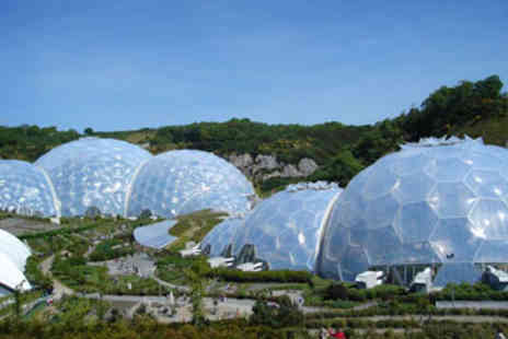 The Eden Project - Visit The Eden Project  Afternoon Tea and Guidebook for Two - Save 0%
