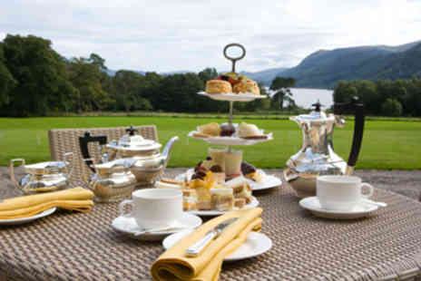 Armathwaite Hall Hotel - Traditional Afternoon Tea for Two   - Save 0%