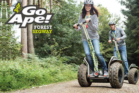 Go Ape - Forest Segway Adventure for Two  - Save 0%