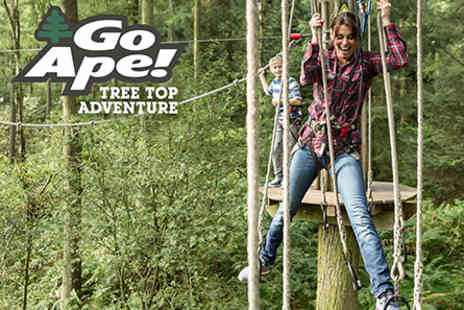 Go Ape  - Tree Top Adventure for One Adult and One Child   - Save 0%