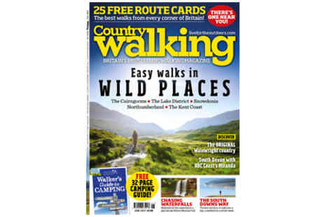 Virgin Experience Days - Country Walking Magazine Subscription Twelve Issues - Save 0%