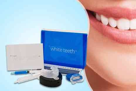 Look Good Feel Fabulous - Nine piece LED home teeth whitening kit  - Save 85%