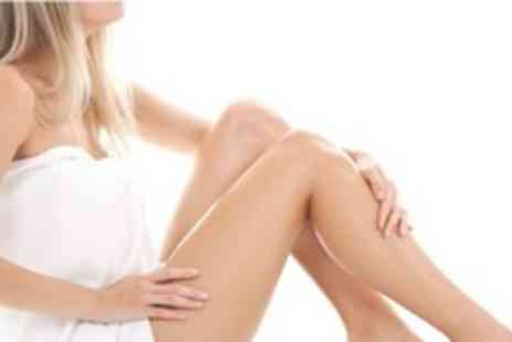 The Day Spa - Six laser hair removal treatments on 1 large & 1 small or 2 medium & 1 small area - Save 91%