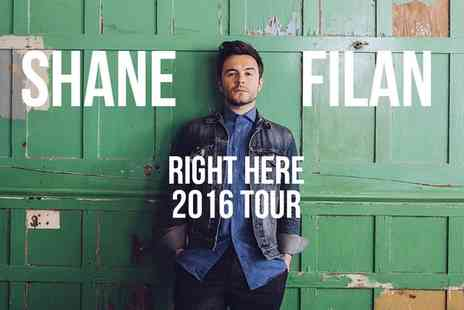 LHG Live - Shane Filan Right Here Tour 2016 Ticket   - Save 0%