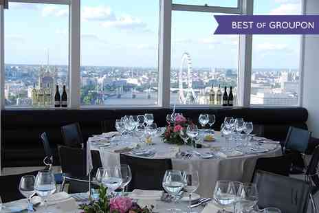 Altitude 360 - Ultimate VIP Brunch In The Sky with Free Flowing Prosecco and Panoramic Views Of London  - Save 60%