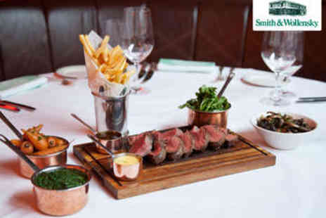 Smith & Wollensky - Chateaubriand with Sides and Cocktails for Two - Save 0%