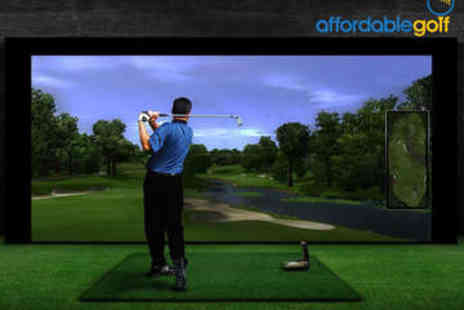 Affordable Golf - Indoor Golf Lesson with Video Analysis - Save 0%
