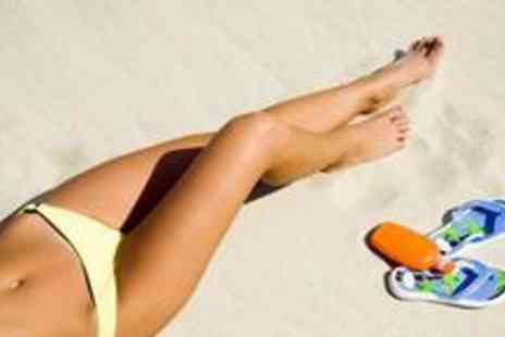 Serenity Beauty  - Spray tan, plus a manicure and pedicure with polish - Save 71%