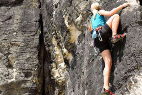 Action Adventure Activities - Abseiling and Rock Climbing for One - Save 51%