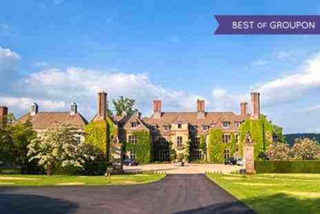 Llangoed Hall - One or Two Nights stay For Two With Breakfast and Fresh Fruit With 3 AA Rosette Dinner Option   - Save 0%